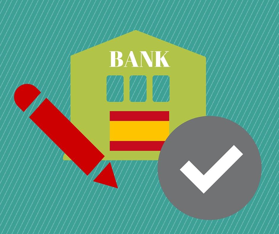 bankkonto i spanien